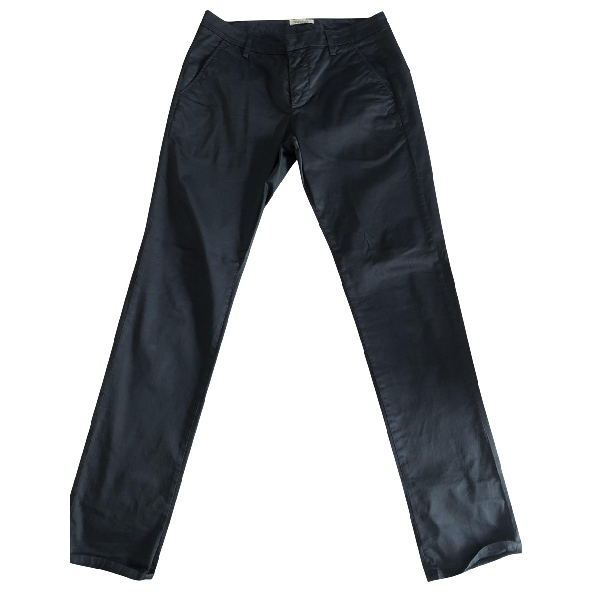Dondup \N Blue Cotton Trousers for Men 32 UK - US
