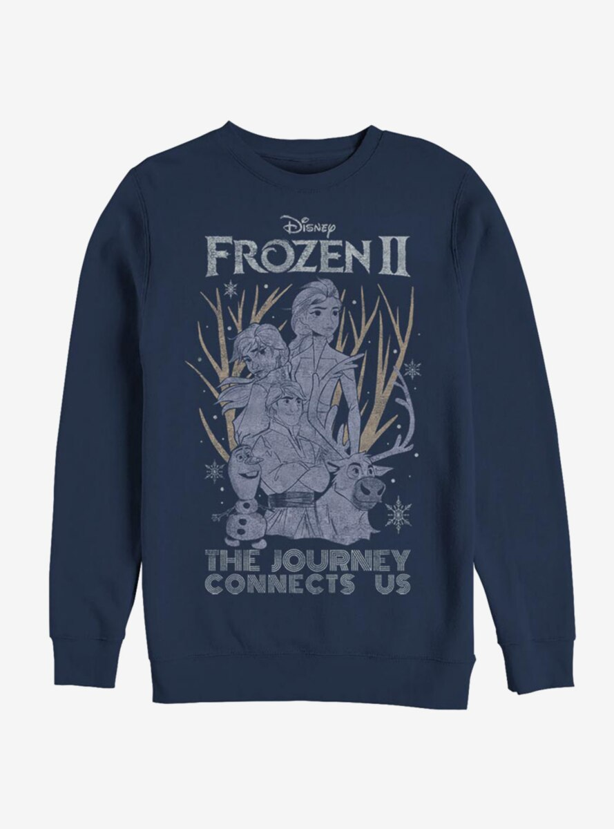 Disney Frozen 2 The Journey Connects Us Sweatshirt
