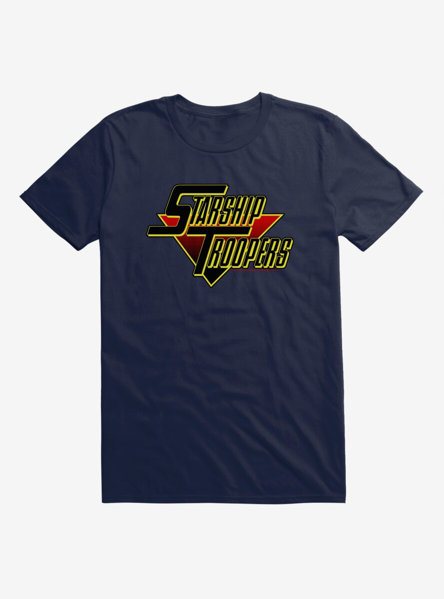 Starship Troopers Bold Logo T-Shirt