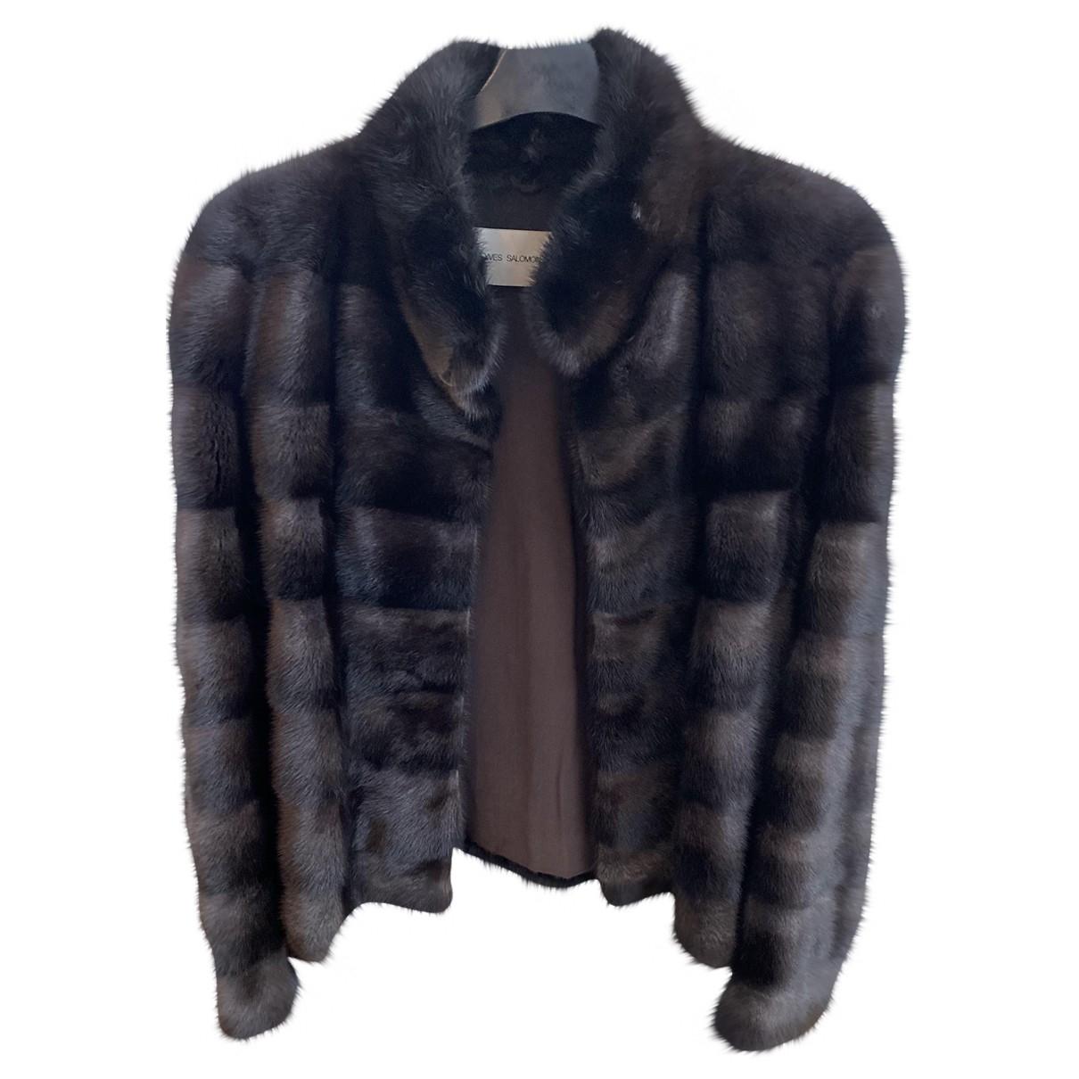 Yves Salomon \N Brown Mink coat for Women 40 FR