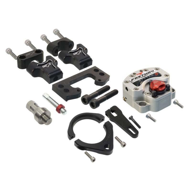 Pro Moto Billet KIT-UB-0201-5 Stabilizer Sys 5 Under-Bar Kit