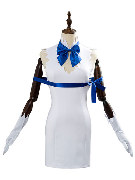 Milanoo Cosplay Is It Wrong To Try To Pick Up Girls In A Dungeon Hestia Polyester Outfit Cosplay Costume
