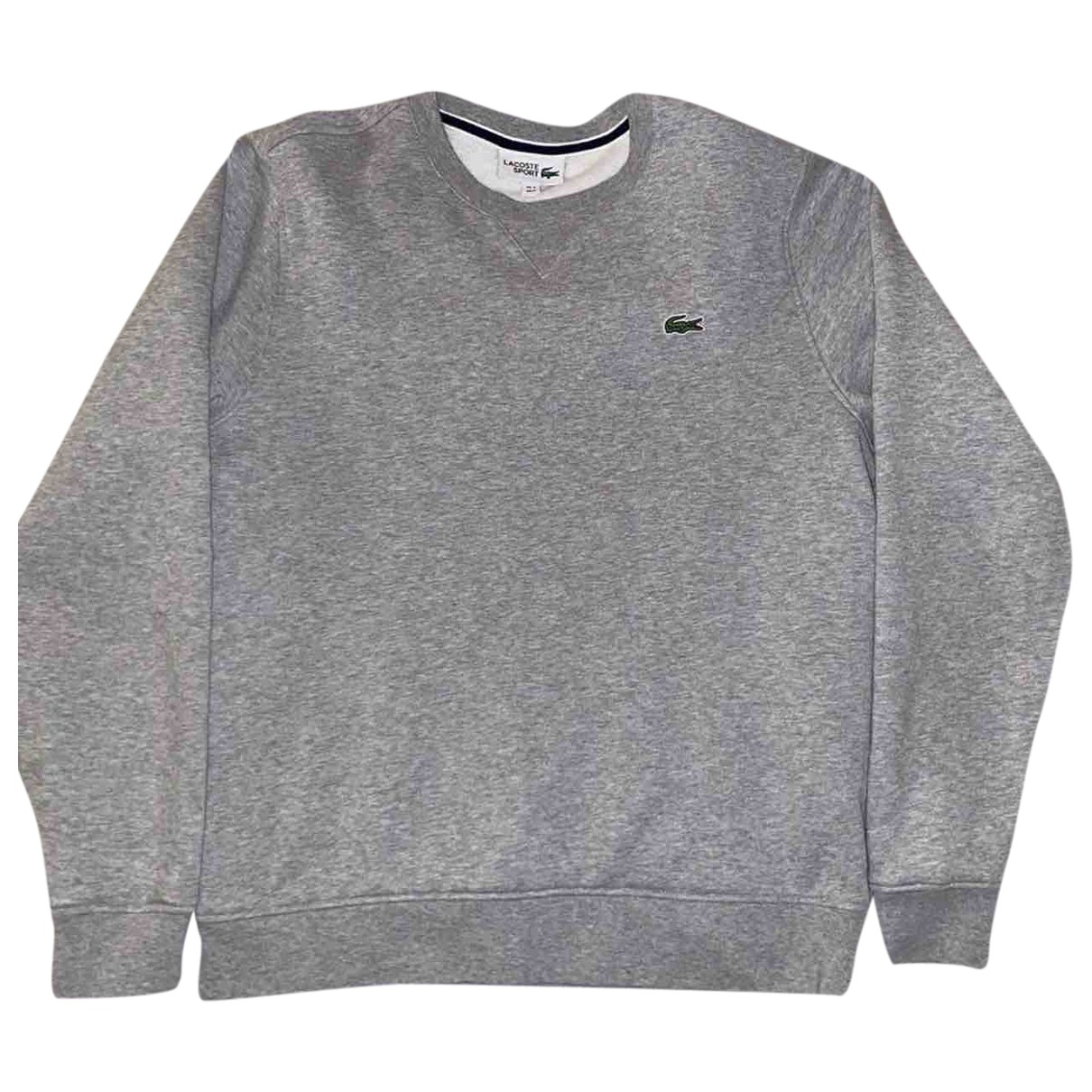 Lacoste \N Grey Cotton Knitwear & Sweatshirts for Men M International