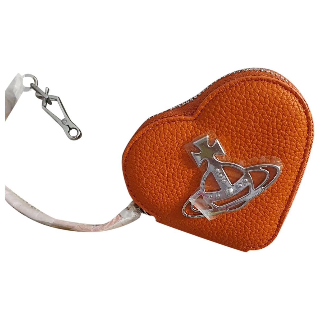 Vivienne Westwood \N Orange Leather Purses, wallet & cases for Women \N
