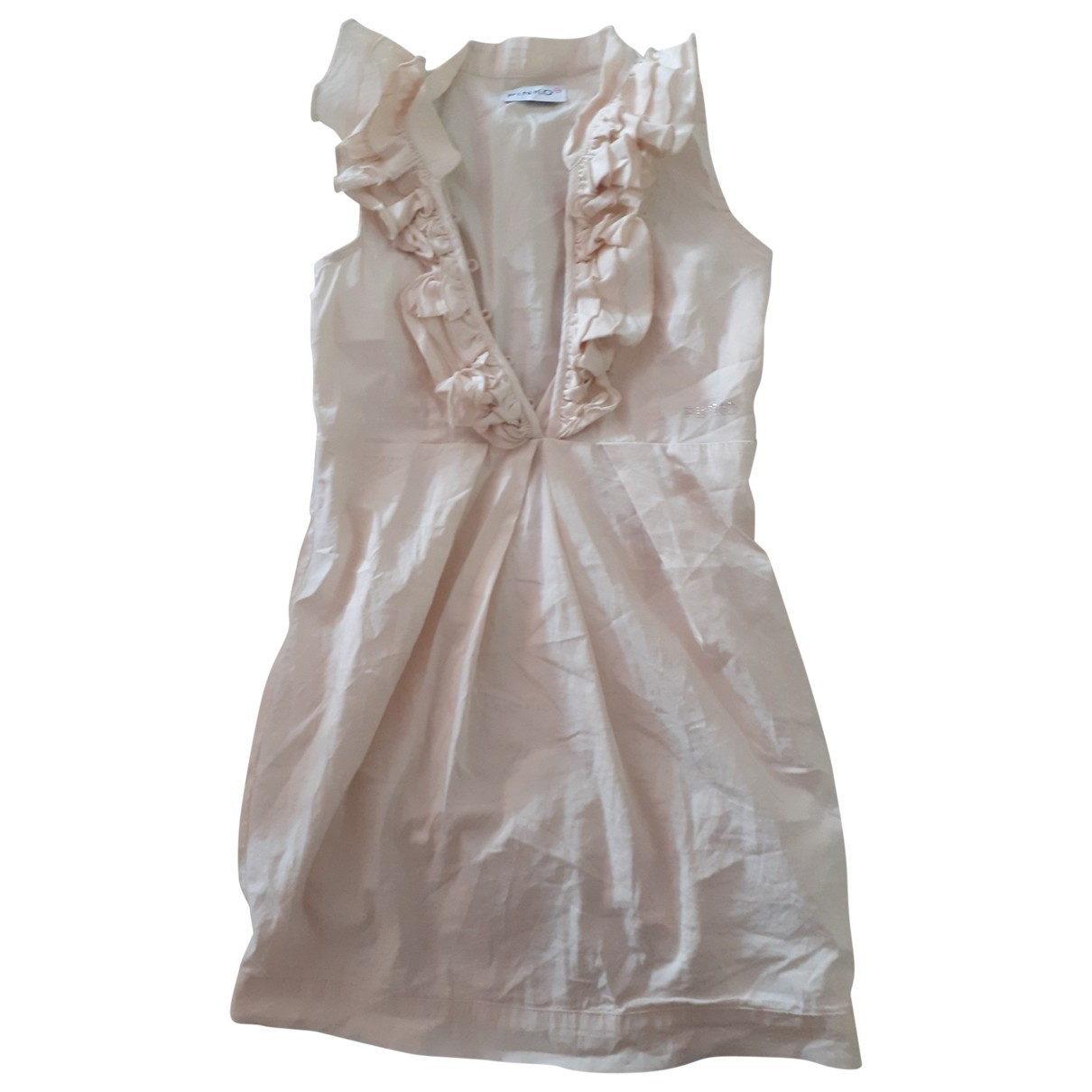 Pinko \N Beige Cotton dress for Kids 10 years - up to 142cm FR