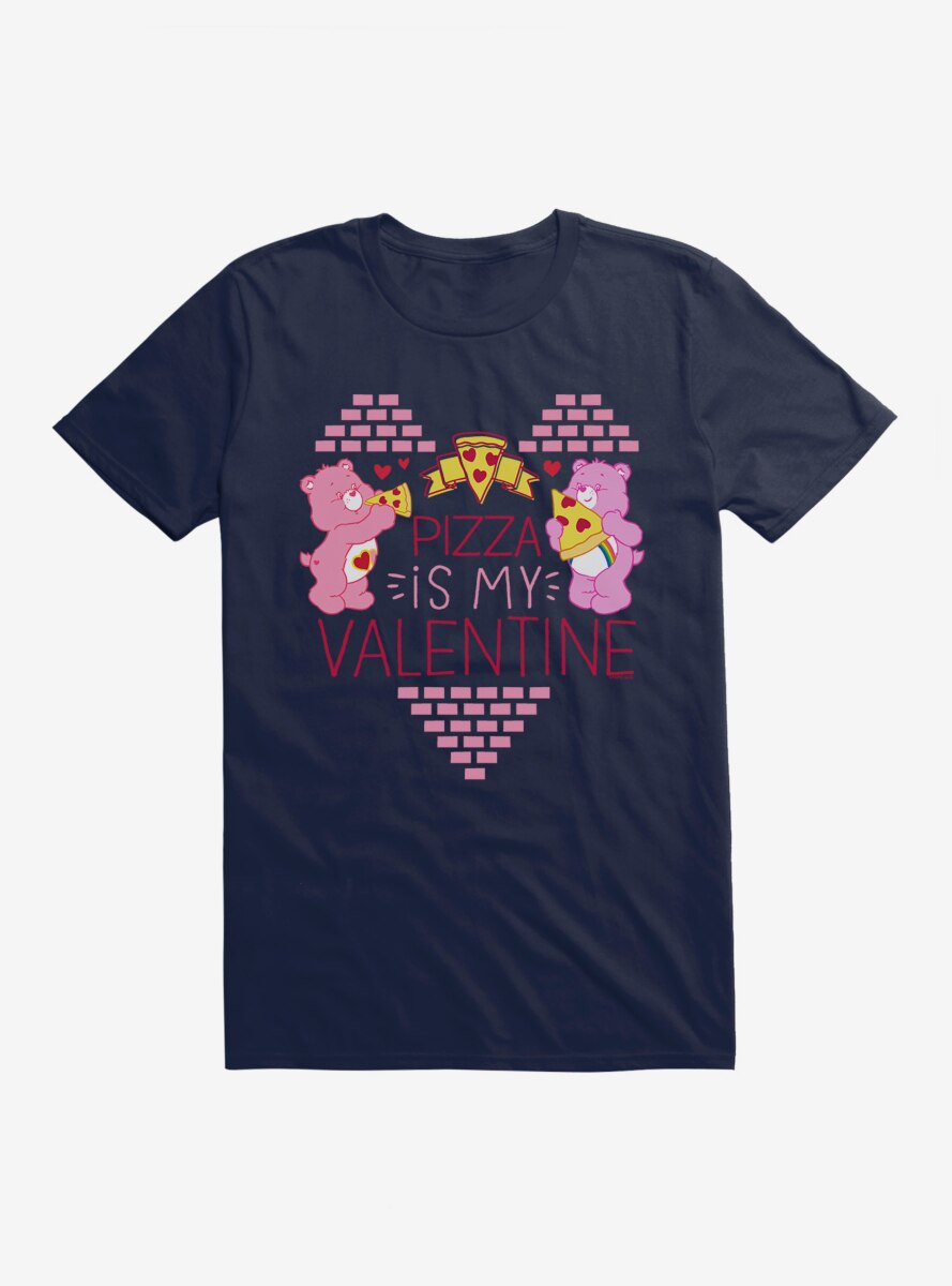 Care Bears Pizza Is My Valentine T-Shirt