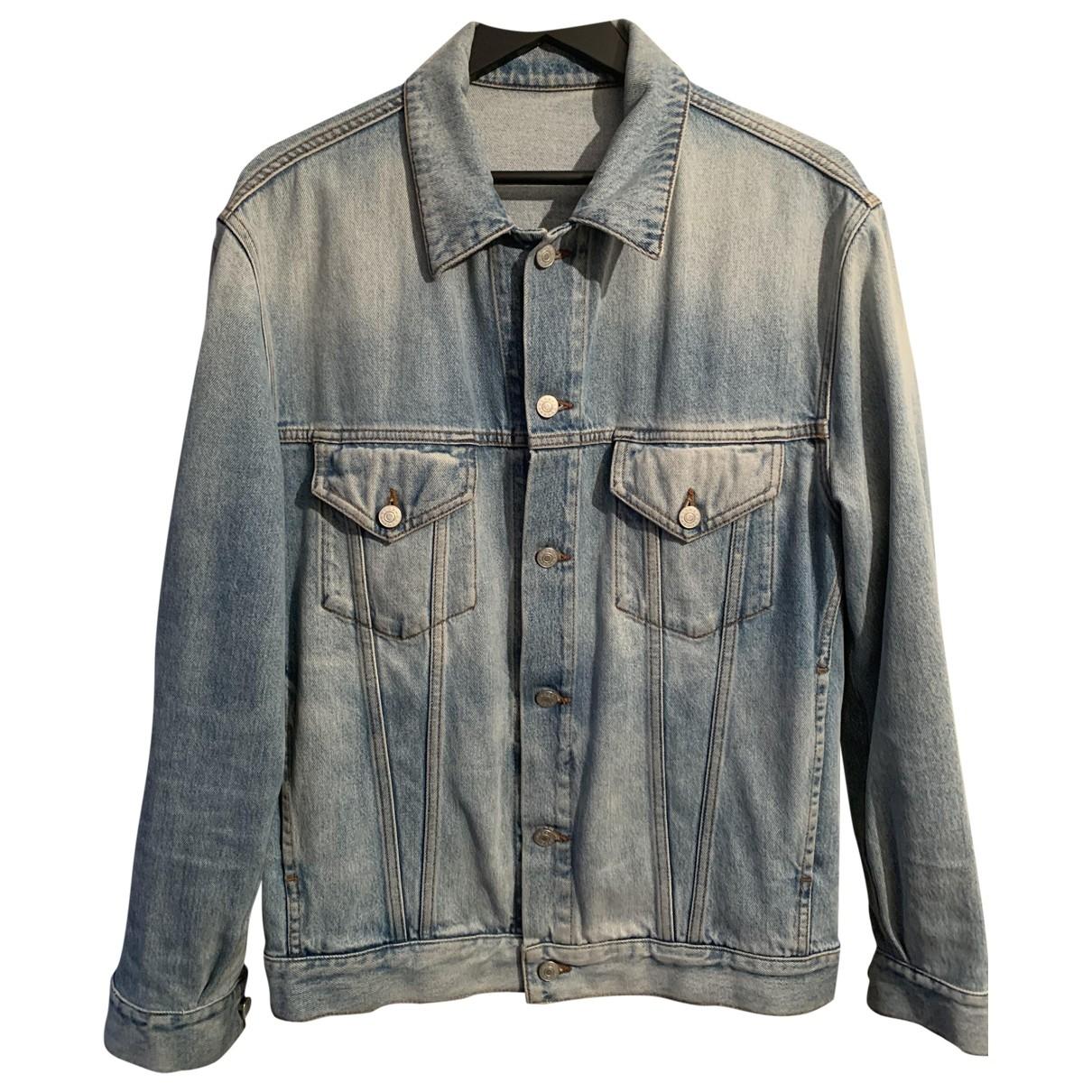 Gucci \N Blue Denim - Jeans jacket  for Men 50 FR