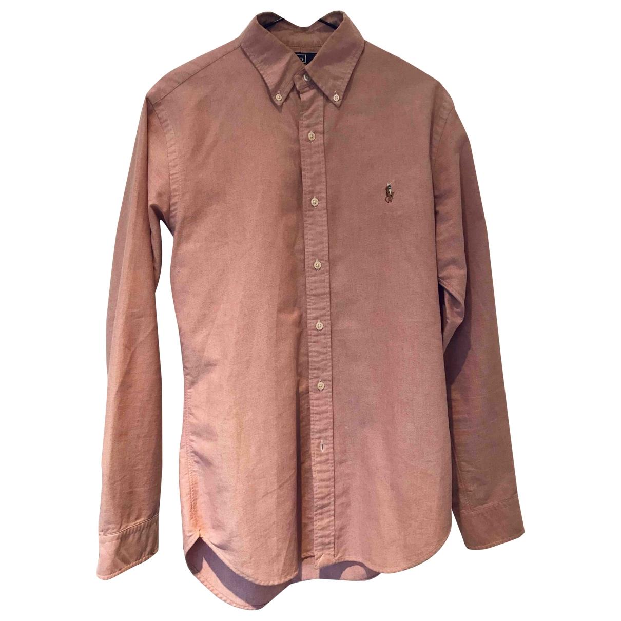 Polo Ralph Lauren \N Pink Cotton Shirts for Men S International