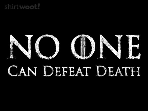 No One T Shirt