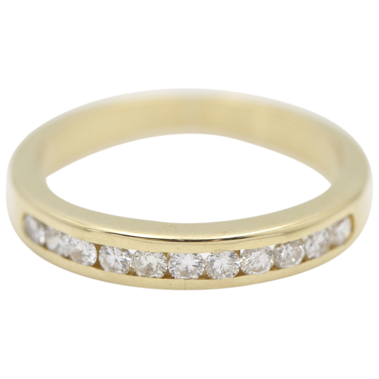 Non Signé / Unsigned \N Gold Yellow gold ring for Women 51 EU