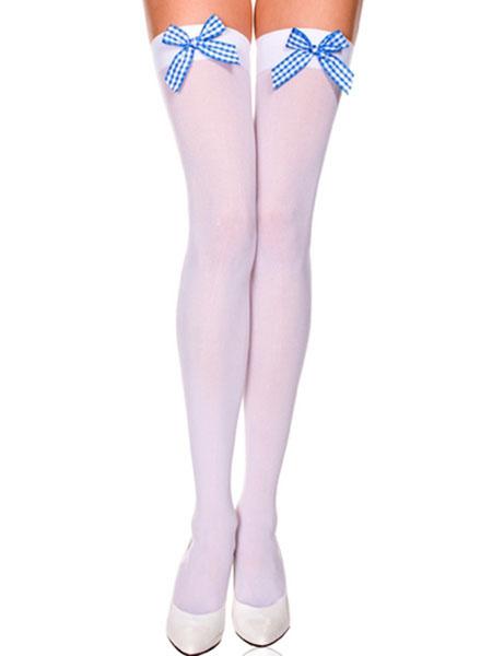 Milanoo Saloon Girl Stockings Knee High Socks Halloween Costume Accessories