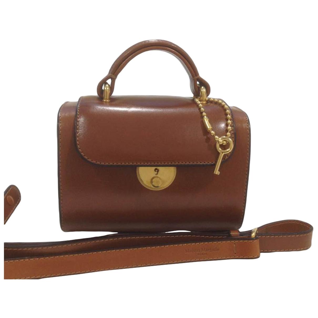 Maison Martin Margiela \N Brown Leather handbag for Women \N