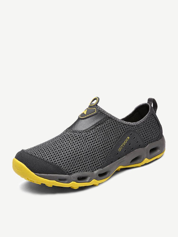 Men Mesh Water Shoes Sport Running Outdoor Sneakers