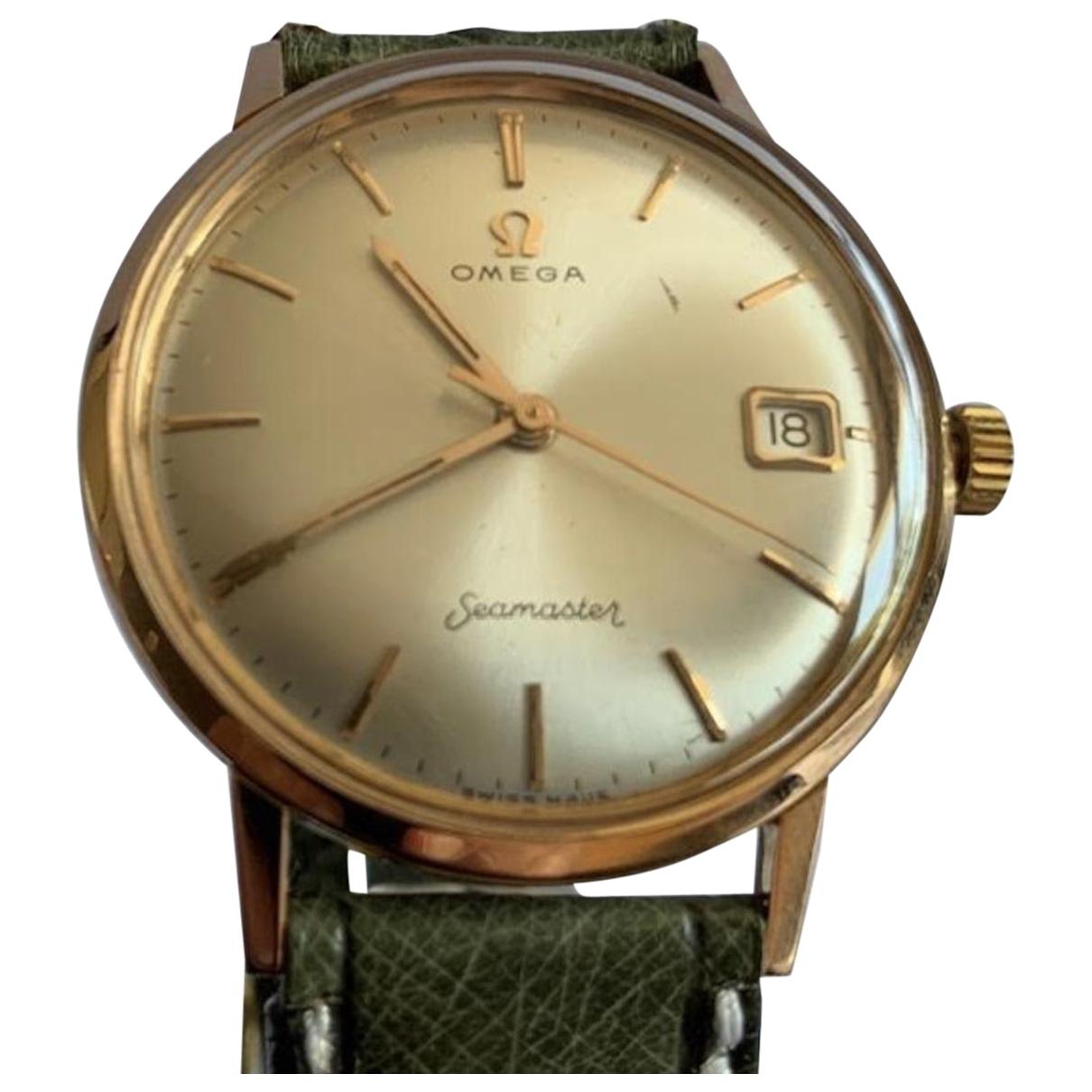 Omega Seamaster Gold Pink gold watch for Men \N