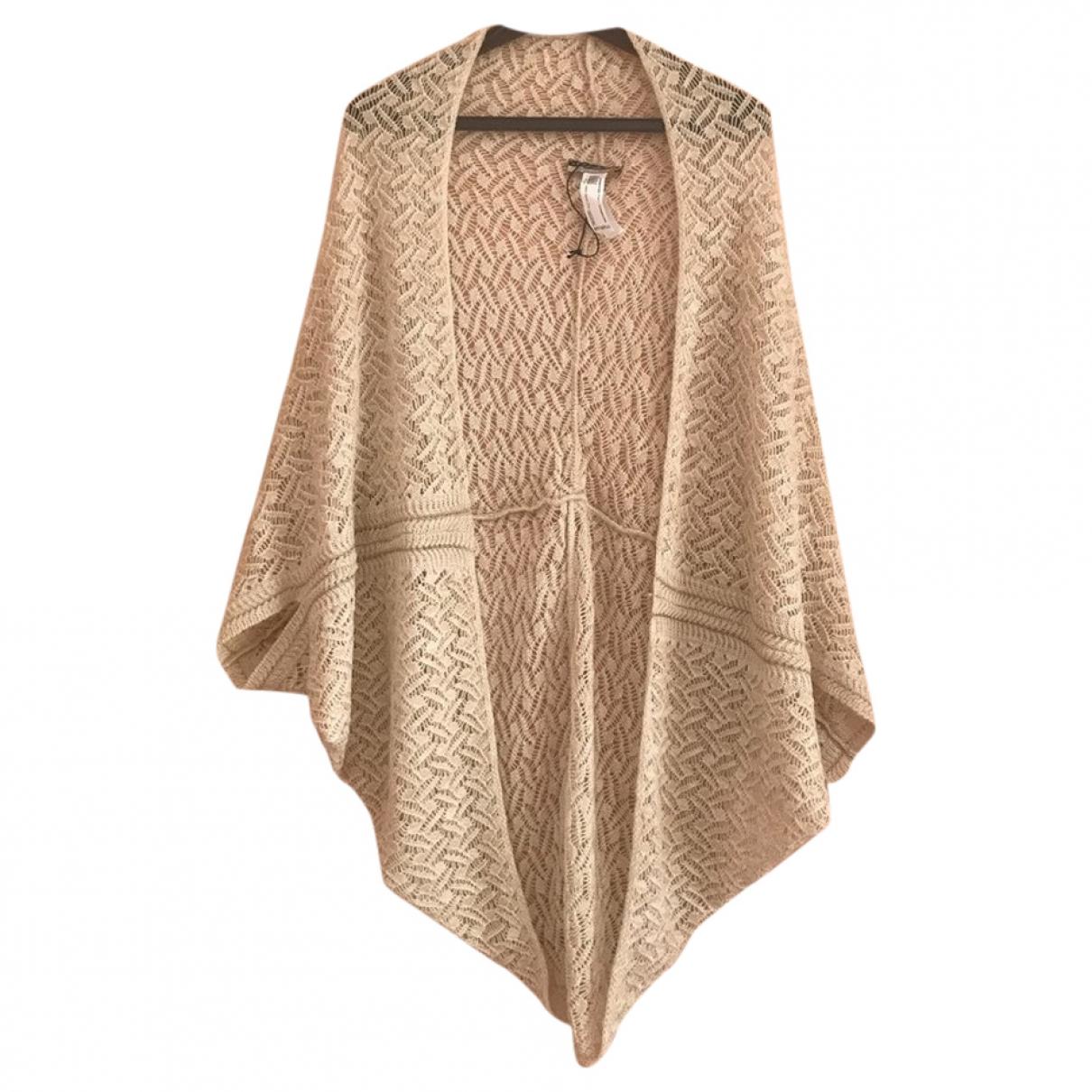Non Signé / Unsigned \N Beige Wool Knitwear for Women 40 FR