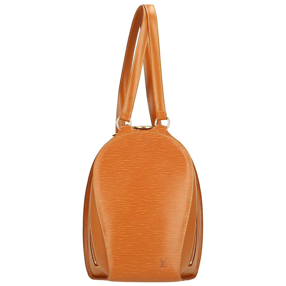 Louis Vuitton \N Orange Leather handbag for Women \N