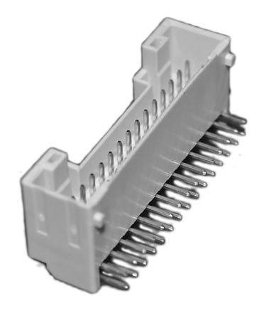 JST , PUD, 30 Way, 2 Row, Right Angle PCB Header (5)
