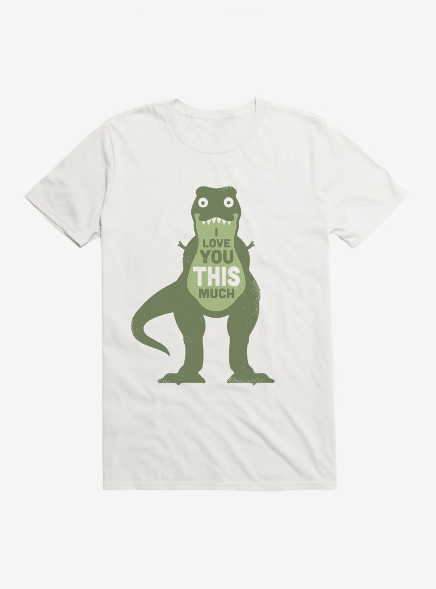 David Olenick Love You This Much T-Shirt