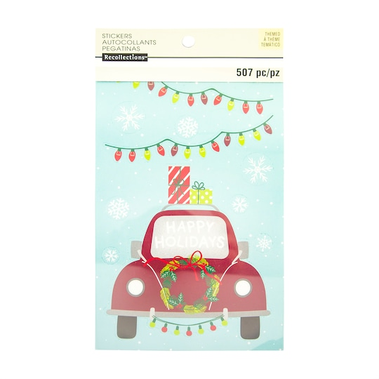 Christmas Sticker Book By Recollections™ | Michaels®