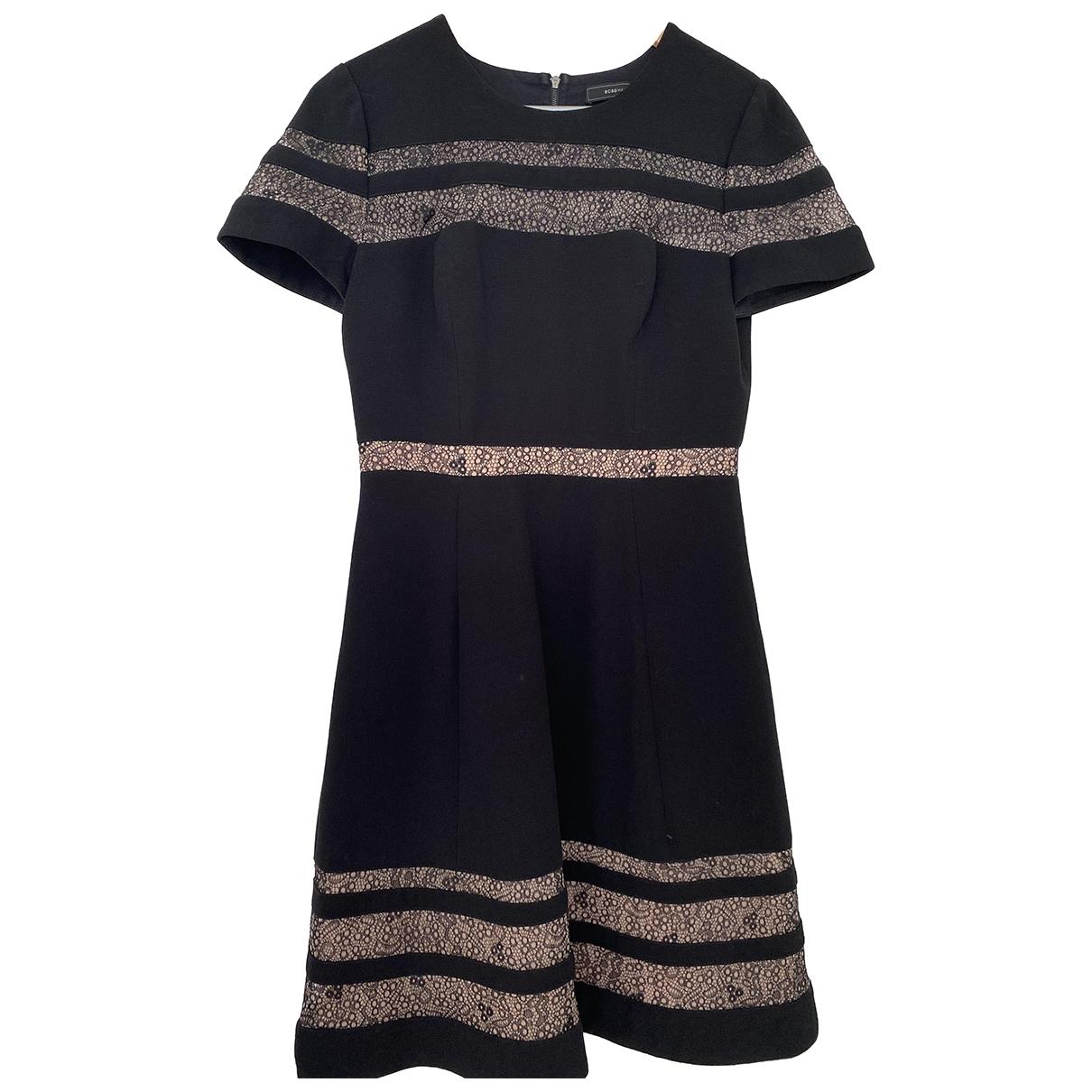 Bcbg Max Azria \N Black Wool dress for Women 6 US