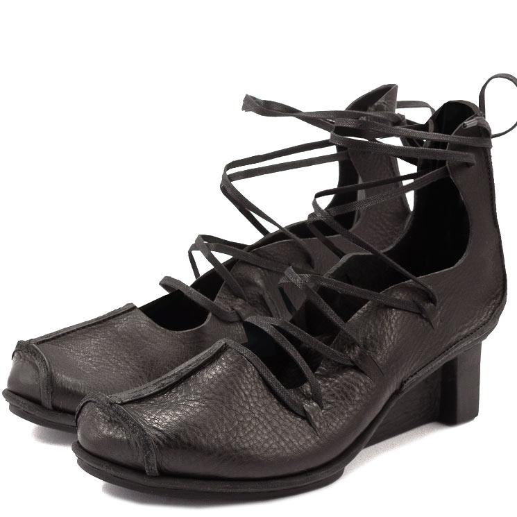 Trippen, Blade x+os Women's Lace-up Shoes, black Größe 39