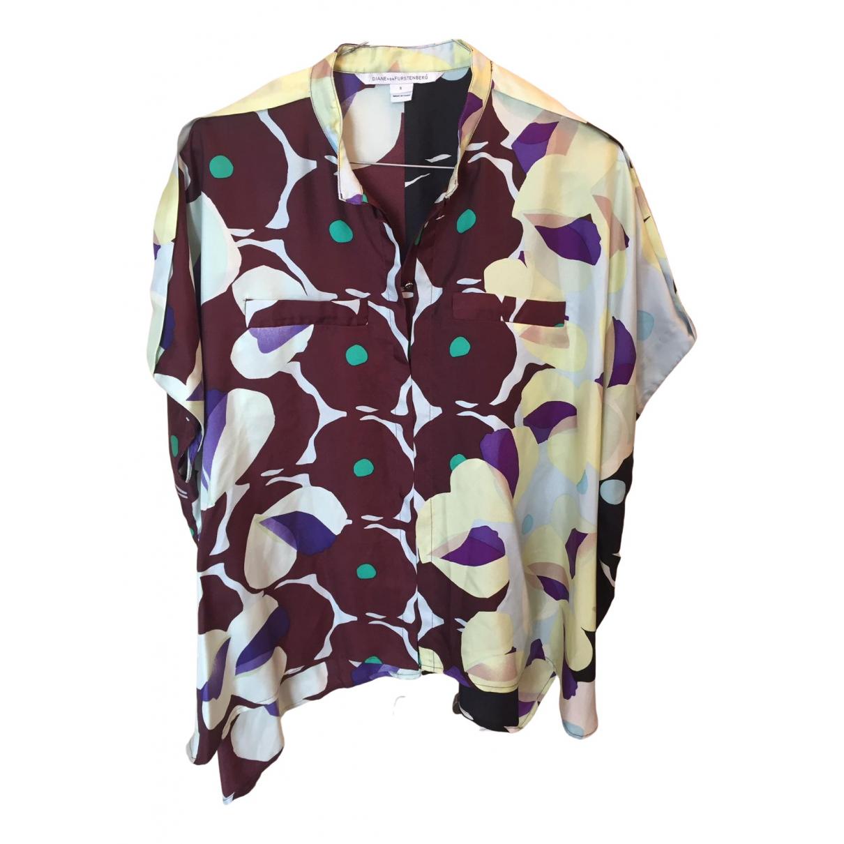 Diane Von Furstenberg \N Multicolour Silk  top for Women S International