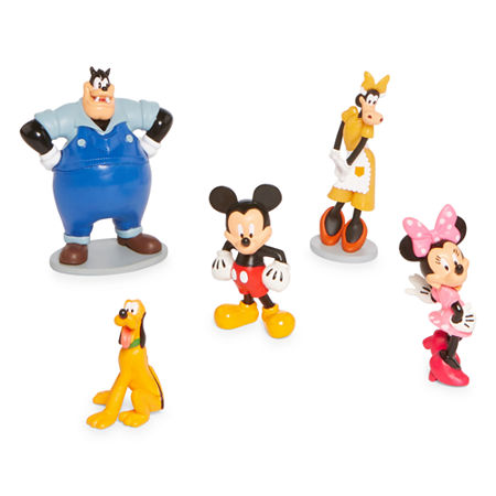 Disney Collection 5-Pc. Mickey And Friends Figurine Playset, One Size , No Color Family