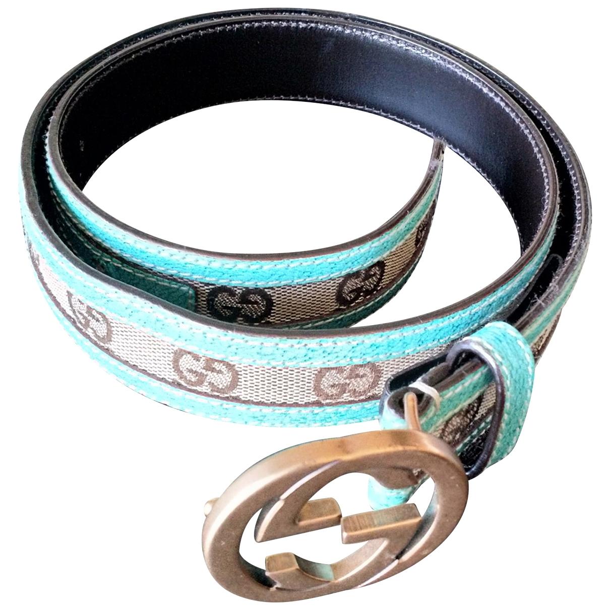 Gucci \N Multicolour Leather belt for Women 80 cm