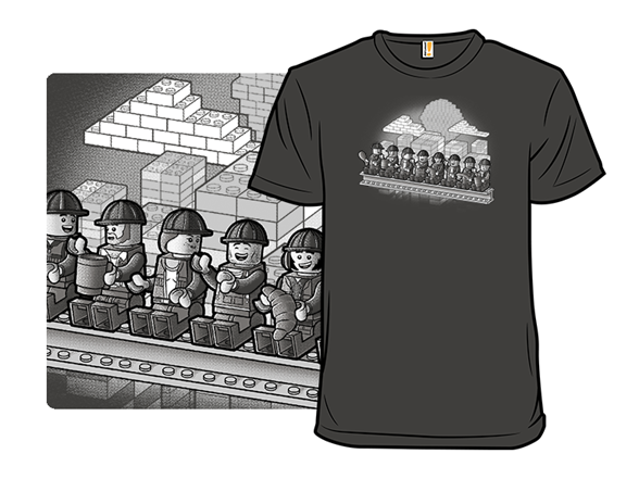 Bricks Workers T Shirt