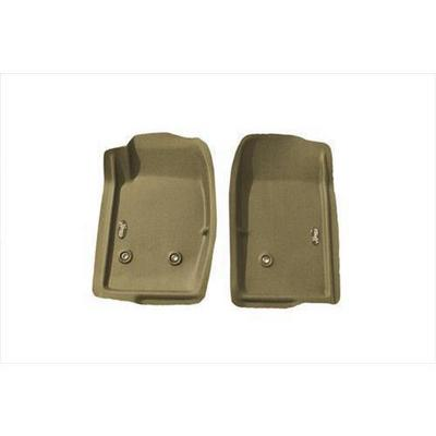 Nifty Catch-All Xtreme Front Floor Mat (Tan) - 401112