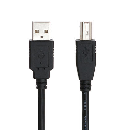 High Quality USB 2.0 A Male to B Male 28/24AWG Cable - PrimeCables® - 6ft