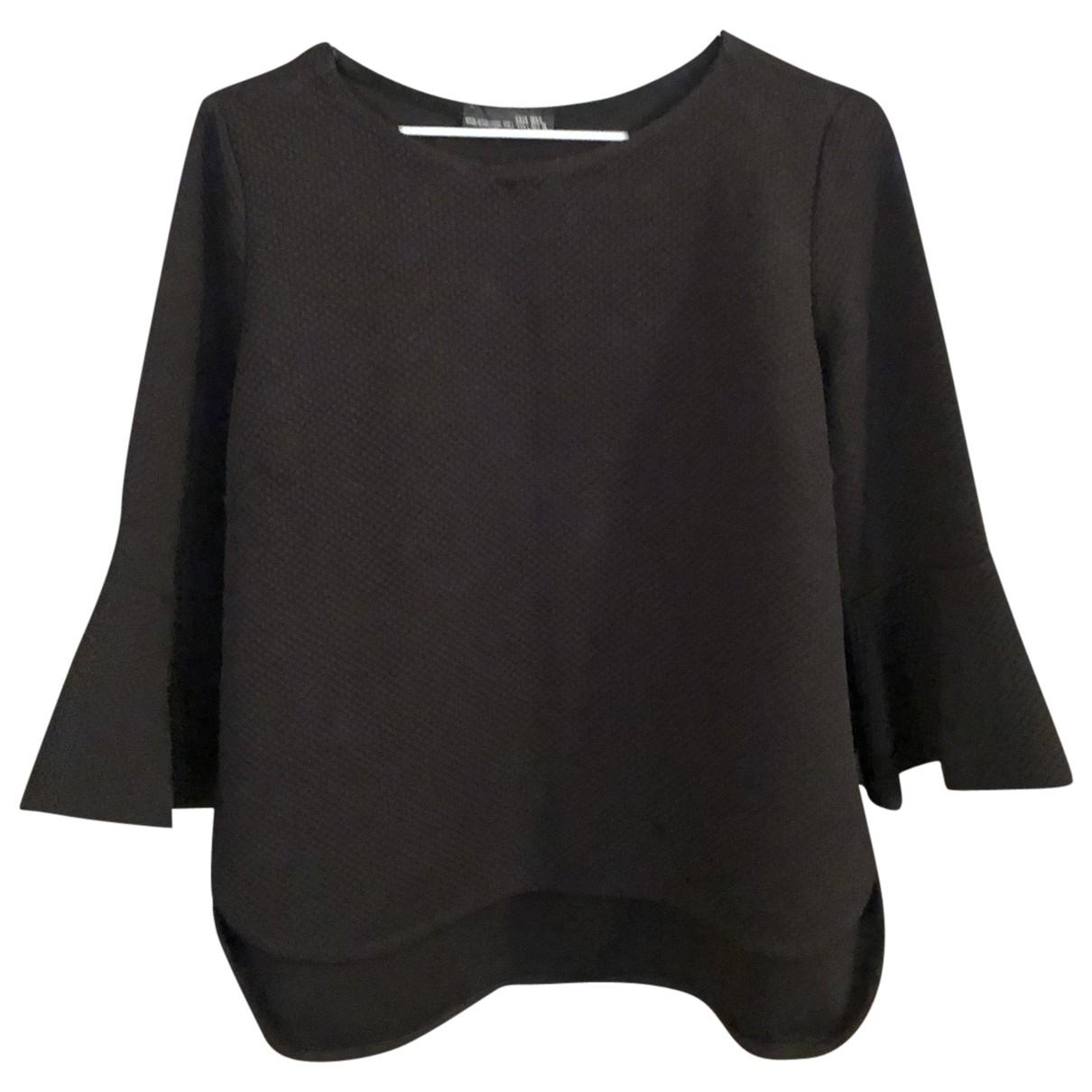 Zara \N Black  top for Women 42 IT