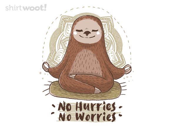 No Hurries T Shirt
