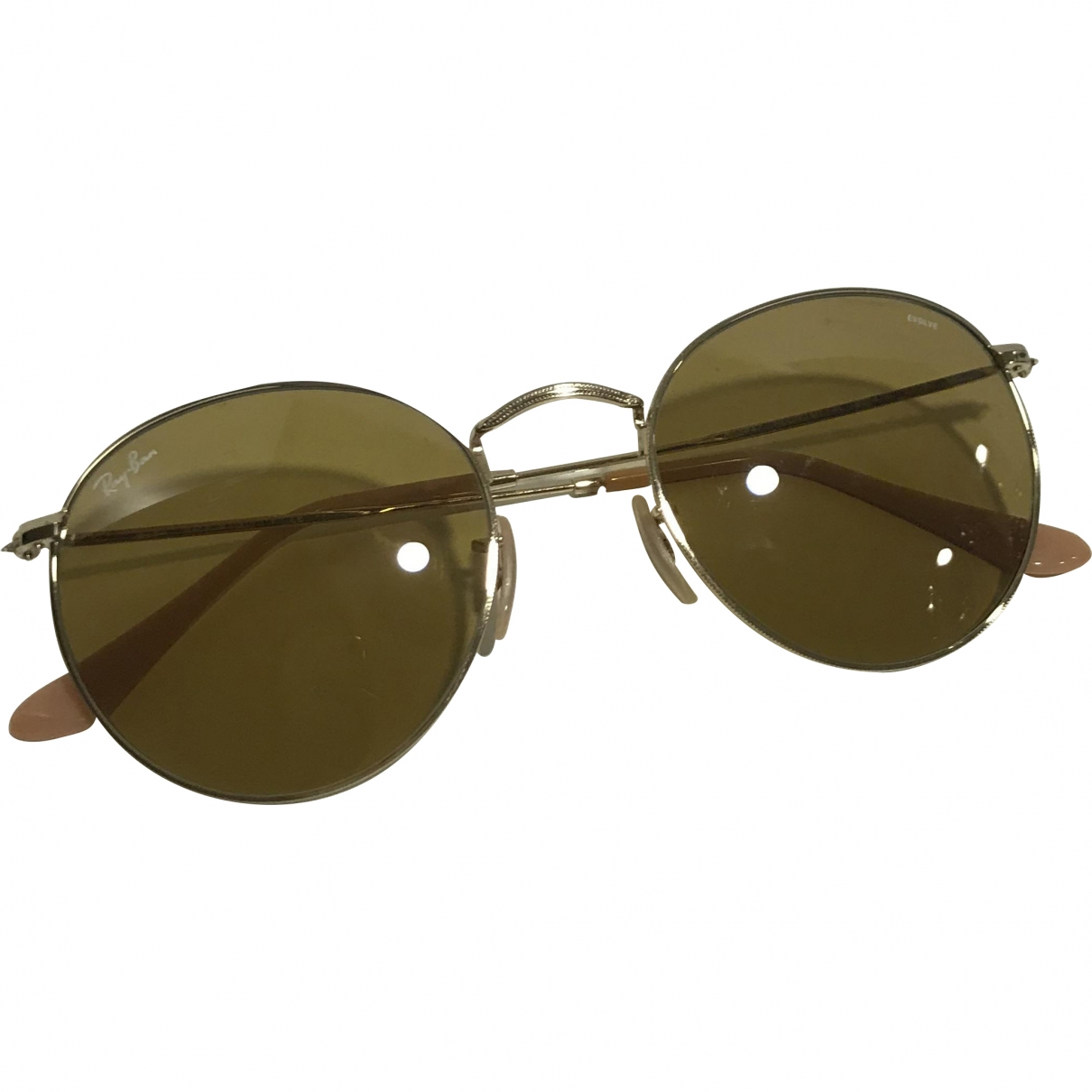 Ray-ban \N Gold Metal Sunglasses for Women \N