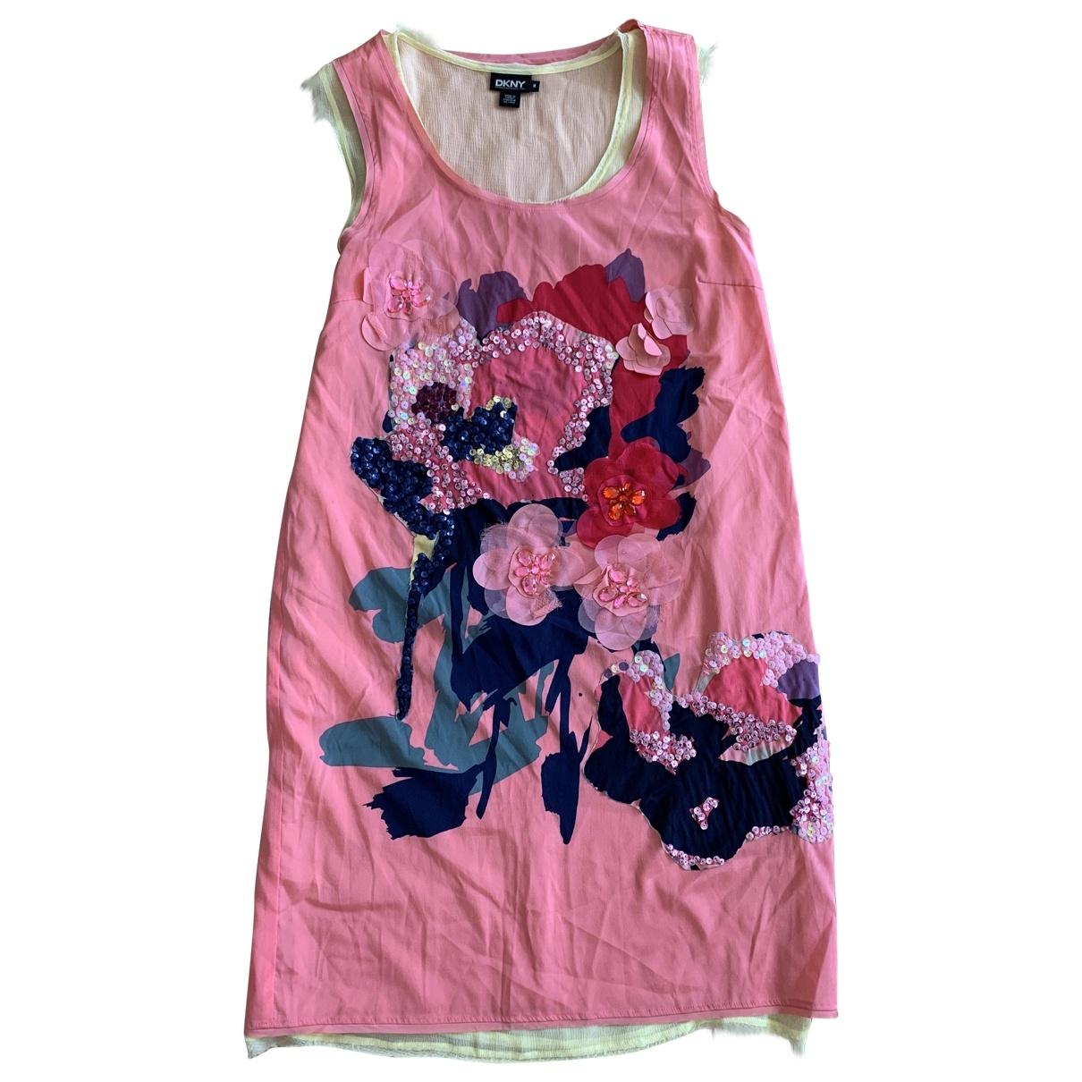 Dkny \N Multicolour Cotton dress for Women 40 FR
