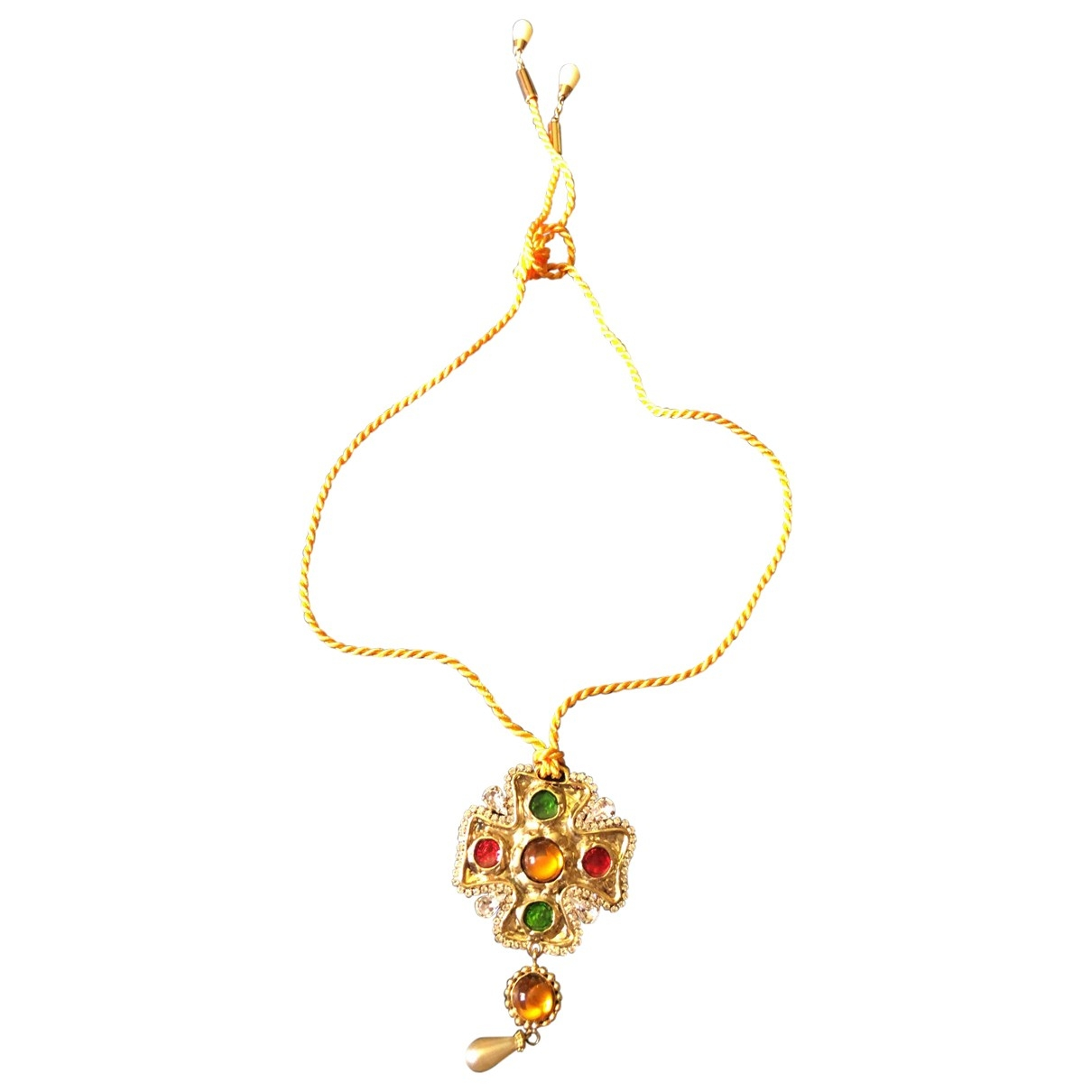 Dolce & Gabbana \N Yellow Gold plated necklace for Women \N