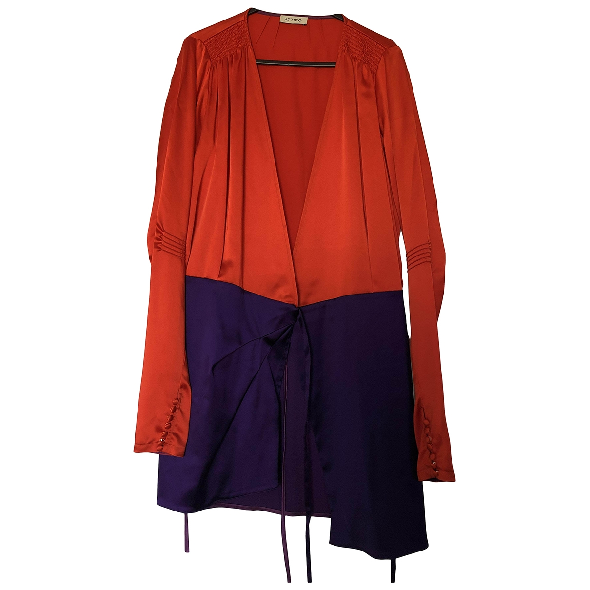 Attico \N Red dress for Women 0 0-5