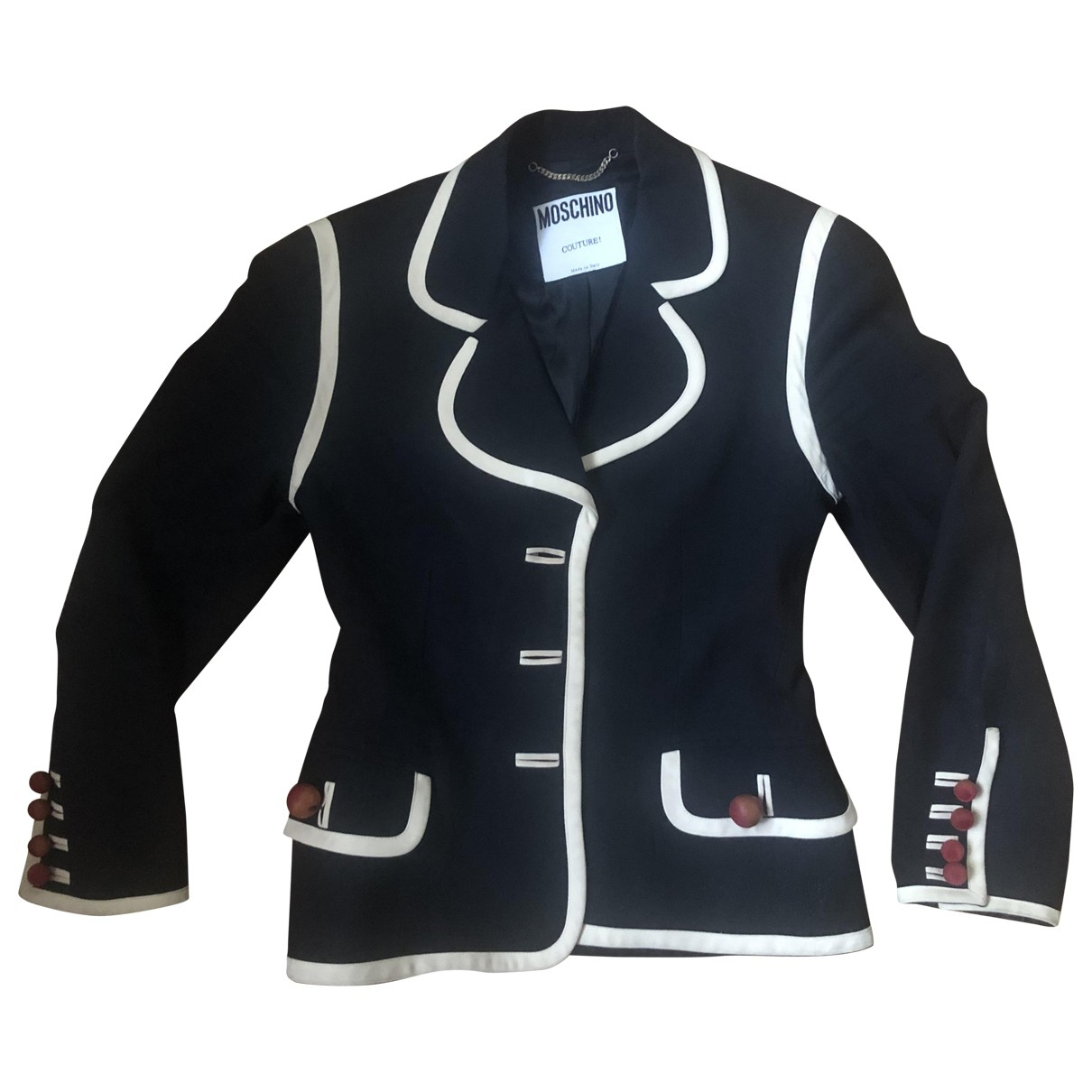 Moschino \N Blue jacket for Women 42 IT