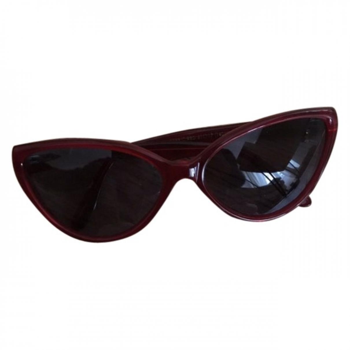 Cutler & Gross \N Red Sunglasses for Women \N