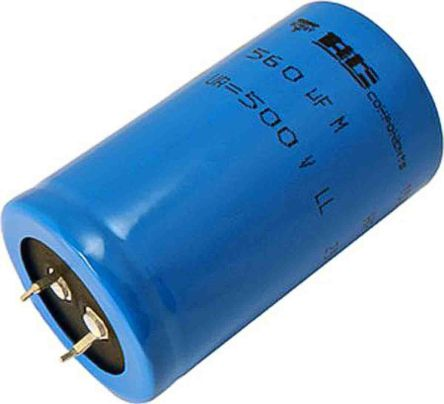 Vishay 220μF Electrolytic Capacitor 400V dc, Through Hole - MAL225756221E3 (100)