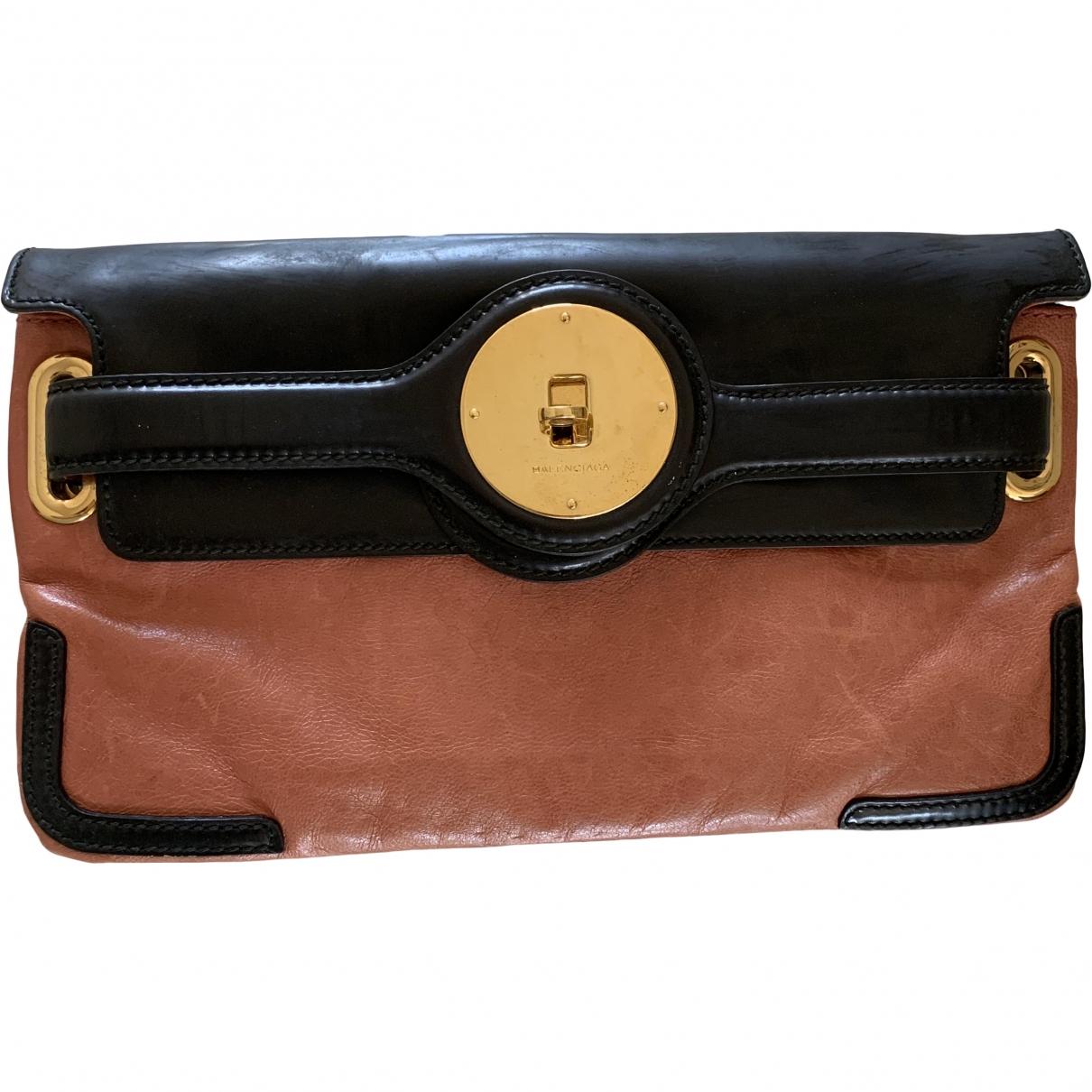 Balenciaga \N Pink Leather Clutch bag for Women \N