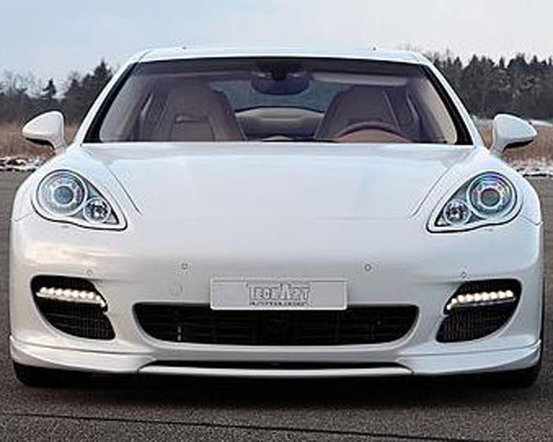 TechArt 070.180.180.009BLK Multifunction Daytime Running Lights Black Finish Porsche Panamera Turbo 10-13