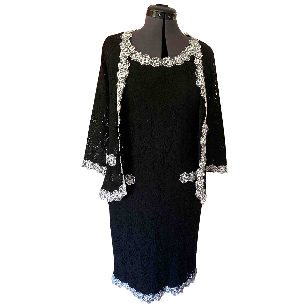 Non Signé / Unsigned \N Black Lace dress for Women 1 0-5