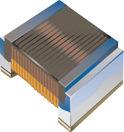 Bourns , CW105550A, 0402 (1005M) Wire-wound SMD Inductor with a Ceramic Core, 30 nH ±5% 400mA Idc Q:25 (10000)