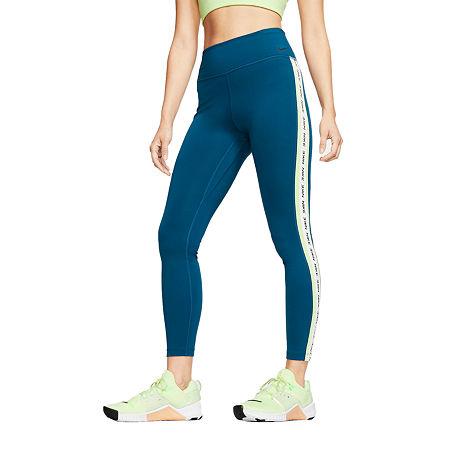 Nike Mid Rise Capri Leggings, X-small , Blue