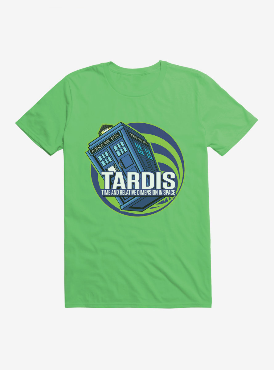 Doctor Who TARDIS Acronym Script T-Shirt