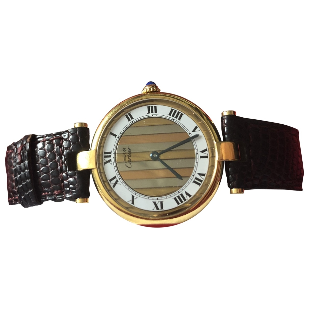 Cartier Must Trinity Gold Silver Gilt watch for Women \N