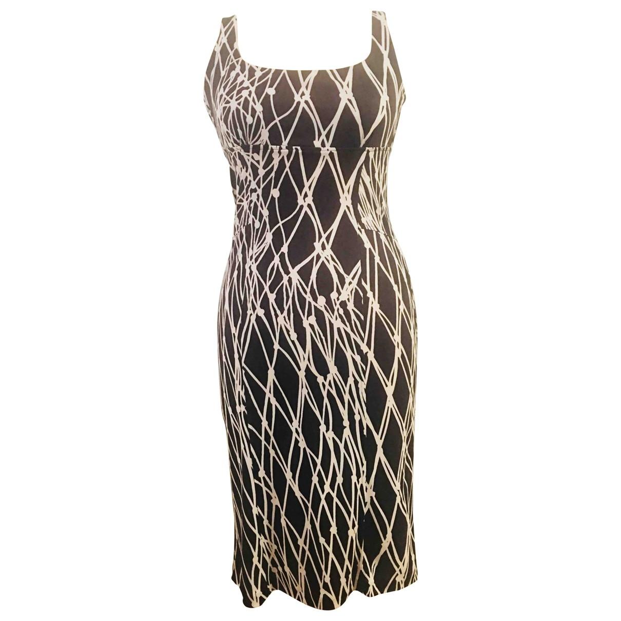 Diane Von Furstenberg \N Brown Silk dress for Women XS International