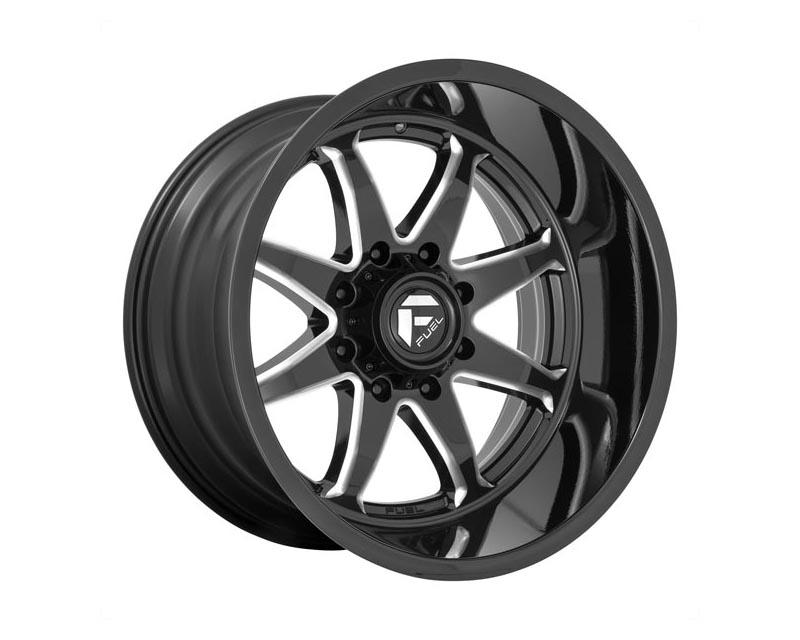 Fuel D749 Hammer Wheel 20x9 6x139.7 1 Gloss Black Milled