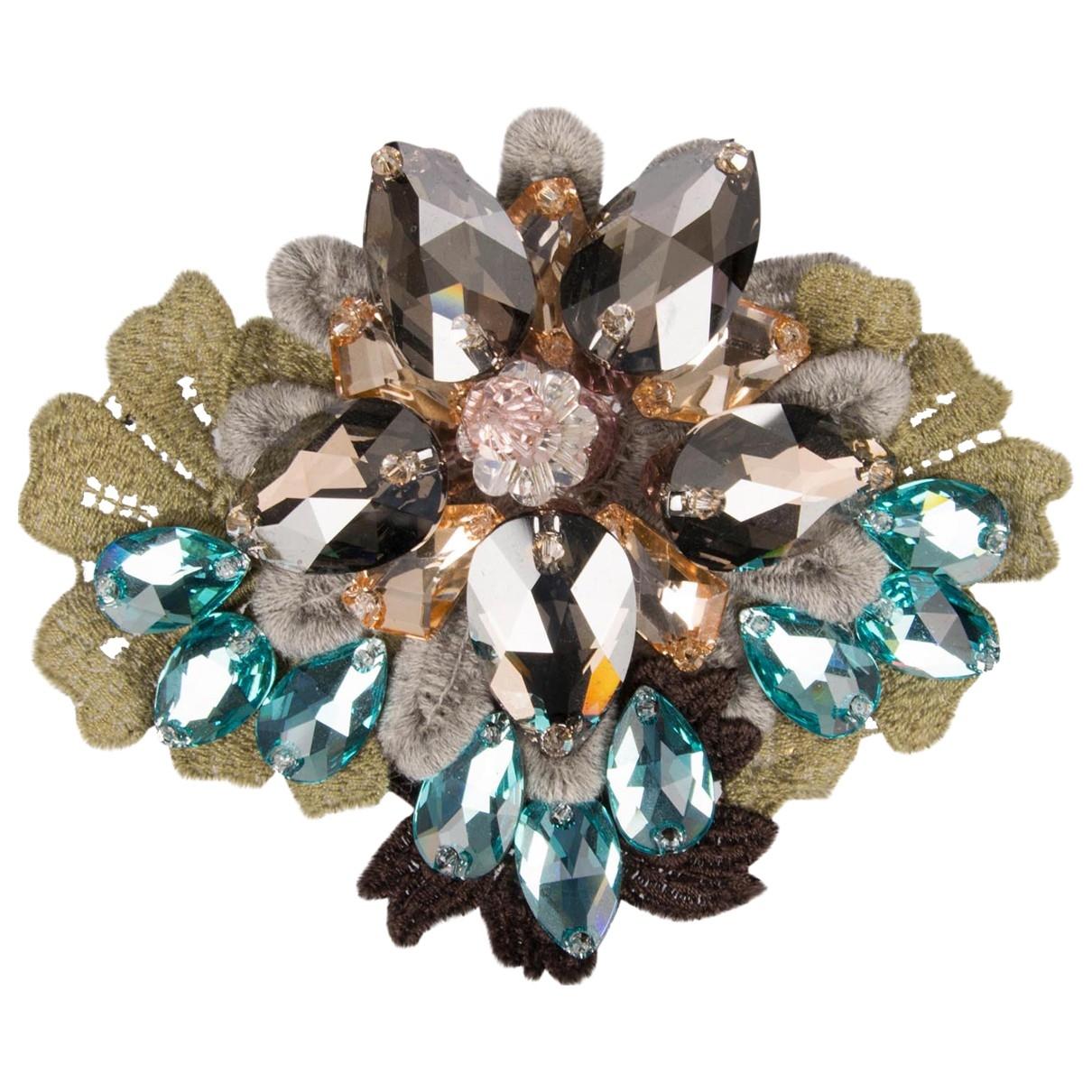 Dolce & Gabbana \N Blue Crystal Hair accessories for Women \N